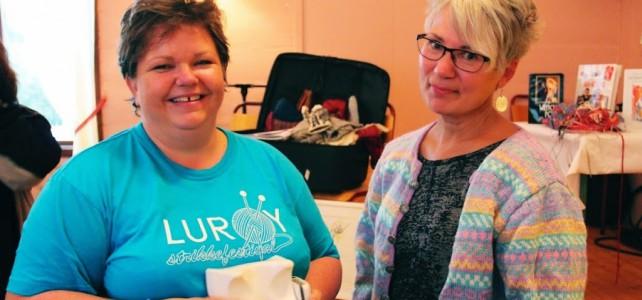Lurøy Strikkefestival 2014 går inn i historien som første i sitt slag på Helgeland!