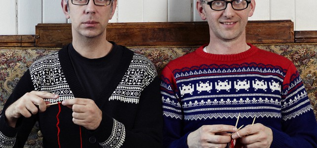 Arne & Carlos kommer til Lurøy Strikkefestival. Bestill din billett! Ring 90 60 73 68.