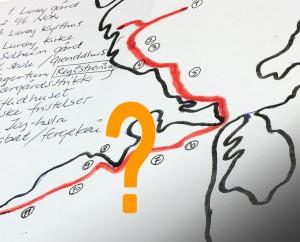 Kart-illustrasjon